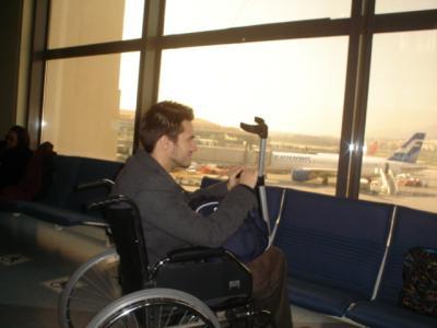 No country for disable men (No es país para discapacitados)