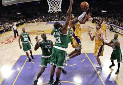 LAKERS 2 - CELTICS 3 / CONVOCATORIA 21/06/08 (Por O. Notxioni)